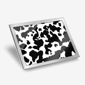 Glass Placemat 20x25 cm - Cow Pattern Animal Print  #16484