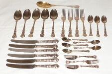Old Baroque Silver Cutlery 27 Pieces 100er Silver Cutlery Dining Cutlery Cutlery
