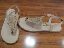 da6ee31381 NEW SPERRY Calla Jane Perforated Leather Sandals WOMENS 9 Tan STS80531   60.00
