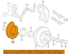 GM OEM ABS Anti-lock Brakes-Front Speed Sensor 15725355