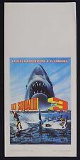 LOCANDINA, LO SQUALO 3 Jaws 3-D JOE ALVES, DENNIS QUAID, HORROR THRILLER POSTER