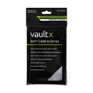 Vault X Soft Card Sleeves - 200 - Clear