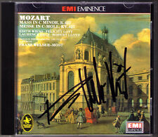 Franz WELSER-MÖST Signiert MOZART Messe c-moll Edith Wiens Felicity Lott Dale CD