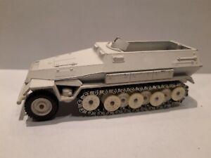 Solido 1/50, char sdkfz 251 blanc, Allemand WW2, Stalingrad ou Ardennes, TBE