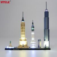 LED Light Up Kit Toy For LEGO 21028 Architecture New York City Lighting Set