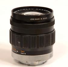 KONISHIROKU HEXANON 100mm f/2.8 F Mount Lens Rare early lens Konica