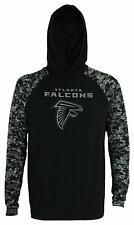 Zubaz Men's NFL Atlanta Falcons Solid Body Digital Camo Hoodie