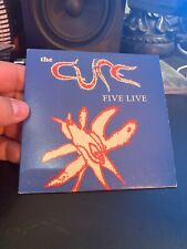 The Cure – Five Live - Warner Music (Australia) – CURE 1 RARE  WOW!