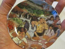 """Avon Canadian Portraits Plate Collection-Ontario's Bounty 6th of 6-1987 4"""""""