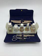 Vintage Revlon Nail Manicure Grooming Set Kit Snap Case
