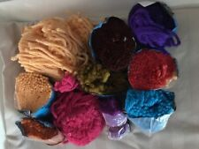 Spinnerin Latch Hook Rug Yarn Wool Assorted Colors 9 Oz Total Weight