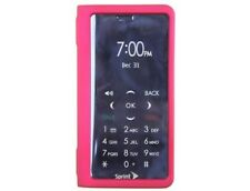 Rubberized Plastic Case Rose Pink For Sanyo Innuendo
