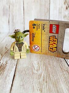 lego keyring minifigure 853449 star wars figure yoda