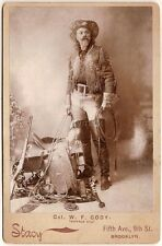 American Wild West Showman Buffalo Bill Cody 1890  7x5 Inch Reprint Photo