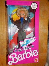 Vintage Mattel 1990 Barbie Air Force Doll Brand New Nib #3360 Stars 'N Stripes