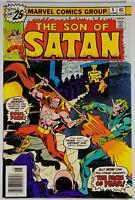 Son of Satan #4 FN/VF 1976 Bronze Age Marvel Comics See Pics