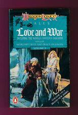 vintage SCI FI  paperback  Dragon Lance  Love and War      1988