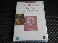 DVD NEUF - LA NUIT ET LE MOMENT / GREBILLON FILS - COMEDIE-FRANCAISE 1680