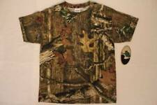 Mossy Oak Break Up Infinity Boys T Shirt Youth Size Large Top Camouflage Hunting