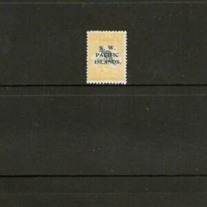 New Guinea 5/- N.W.P.I. Stamp