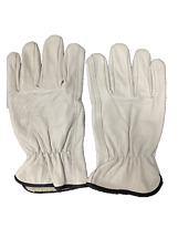 10 Pairs Leather Driver Gloves Cowhide Large