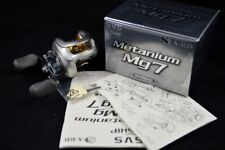 METANIUM Mg7  RIGHT HANDED W/BOX SHIMANO BAITCASTING REEL MADE IN JAPAN