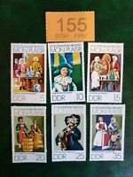 Germany DDR - 1974  - Mon Plaisir ': Exhibits in Dolls' Village, stamps MNH !