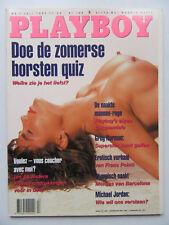 Playboy NL 7/1992, Angela Melini, Michael Jordan