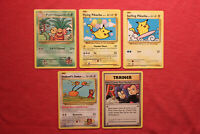 Pokemon Evolutions: Flying 110 Surfing 111 Pikachu 109/108 All Secret Rare Lot