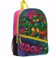 TMNT Backpack for Girls Backpacks - Teenage Mutant Pink Bag - Aust Stock - BNWT