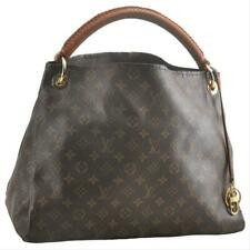 Louis Vuitton Artsy Mm Brown Monogram Canvas Hobo Bag Tote