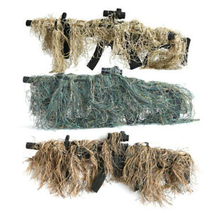 Hunting Rifle Wrap Rope Ghillie Suit Gun Cover CS Camouflage Hunting Accessories