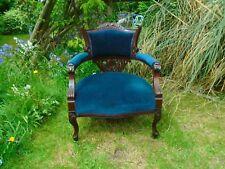 Antique victorian tub chair