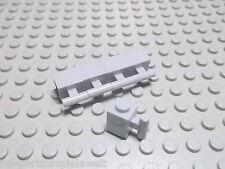 Lego 5 Basicsteine mit Griff 1x1 neuhellgrau 2921 Set 8426 10212 4837 5865