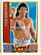 Slam Attax Superstars - #135 Tito Santana