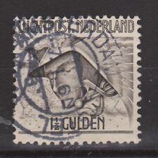 LP 6 luchtpost 6 TOP CANCEL AMSTERDAM NVPH Nederland Netherlands airmail