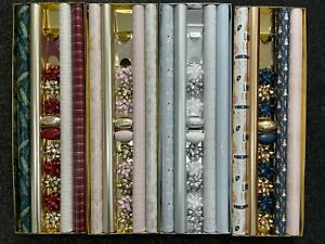 22 Pieces Luxury Christmas Gift Wrap Pack (  Bows ,Tags,Rolls ,  Ribbon Cobs )
