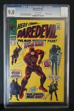 DAREDEVIL  #27 - MARVEL COMICS 1967 - SLABBED CGC 9.0