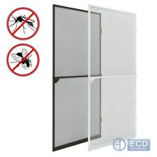 Mosquito insect net mesh guard door fly screen curtain bug flyscreen white/brown