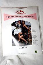 70er Jahre Bellinda Glanz  Nylon Strumpfhose Gr. 46 Anthrazit 15 Den Retro