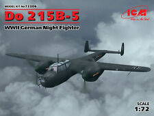DORNIER Do 215B-5 WWII German Nightfighter  ICM 1/72 PLASTIC KIT