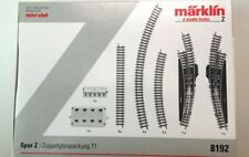 Marklin 8192 Z Scale T1 Double Track Extension Set New Release US DEALER $0 SHIP