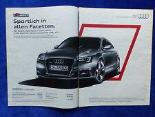 Audi A5 Sportback S Line - Werbeanzeige Reklame Advertisement 2013 __ (215