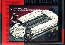 Hobby Fan 1/35 HF-516 US Marine LVTP-5 Crew - 2 Figures w/Sandbags