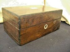 Vintage Wooden jewellery Box - COLLECTIBLE BOX - NEEDS SMALL REPAIR