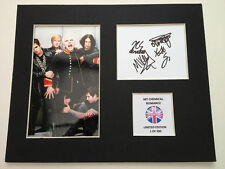Limited Edition My Chemical Romance Music Signed Mount Display AUTOGRAPH