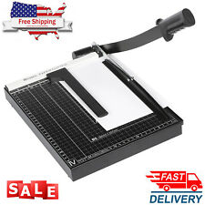 12.7x9.8x1.2in A4 Paper Cutter Trimmer Machine Scrap Booking Metal Base Cut Tool