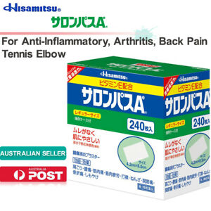 Hisamitsu SALONPAS Ae 240sheets Pain Relief Patch Topical Analgesic Au Stock日本久光