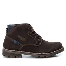 XTI Hombre Botas Botines Zapatos Invierno Alta Media Baja de piel 23409