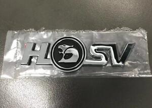 Hsv Corporate Logo Badge Brand New Genuine Holden Maloo Xu6 Clubsport Gts Vt Vx